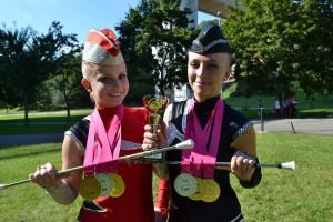 WCH - Písek - 2. World Championship Majorettes Sport 2014_duo_tereza_a_pavlina_-_mistryne_sveta