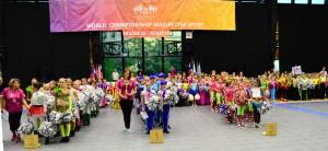 WCH - Karviná - Mažoretky MICHELLE z Karviné obhájily Titul Mistryň světa