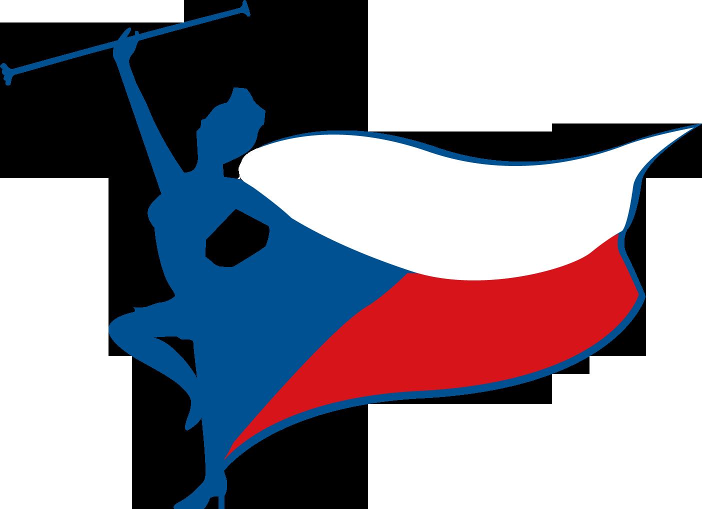 Oficiální logo Mistrovství České republiky v mažoretkovém sportu
